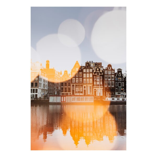 Amsterdam stock photo Print Amsterdam Canal