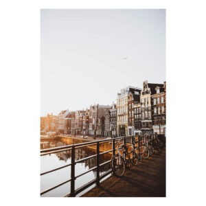 Amsterdam stock photo Print Amsterdam Bridge