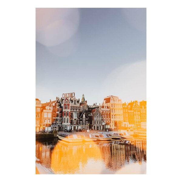 Amsterdam stock photo Print Amsterdam Centre